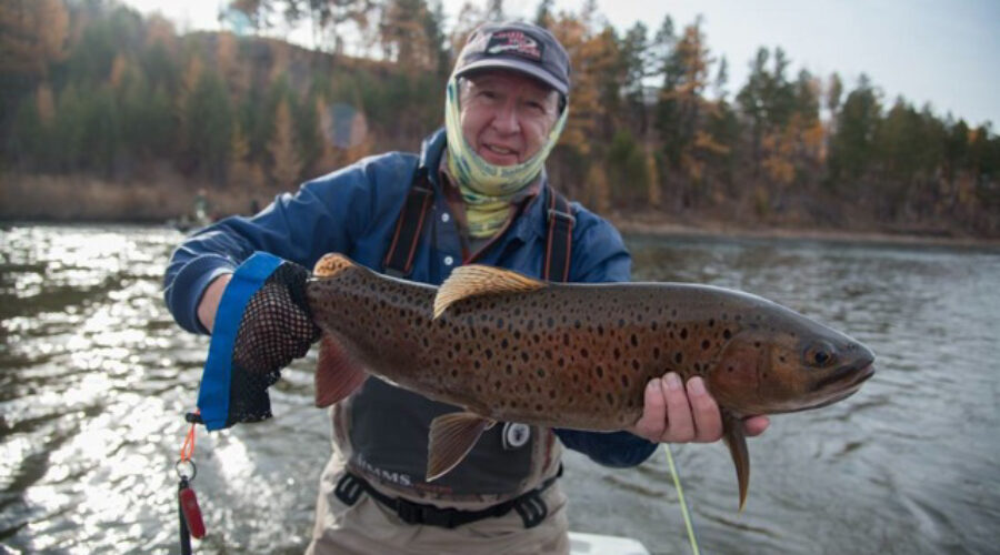 Fly Fishing for Trout, Lenok, and Pike in Mongolia